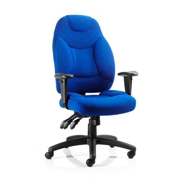 foxley heavy duty office chair 235 stone - Heavy Duty Office Chairs